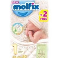 Online pharmacy Store in Pakistan has a large quantity of Molfix Size 1 Pampers in pakistan