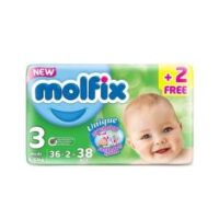 Shop the best Molfix Anti Leakage Comfortable Midi Baby Diapers from the the world class online medical store in Pakistan