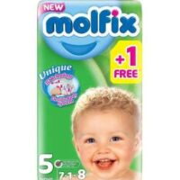 Pampers, Get the top class Molfix Baby Diaper Size 5 Junior 64 Pcs Jumbo Pack 11-18 Kgs Online medical store in Pakistan. we also provide them in small, economy and Jumbo pack on low price.
