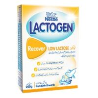 Buy the Lactogen. Nestle Lactogen is a low lactose formula milk for babies aged 0-12 months. The low lactose milk is safe to drink by infants suffering from diarrhea