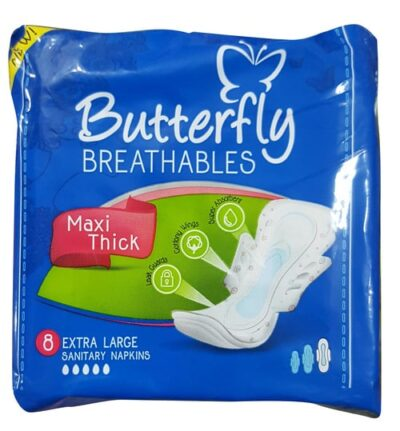 Shop now the Butterfly Breathables Maxi Thick Extra Large Pads from our online medical store In Pakistan
