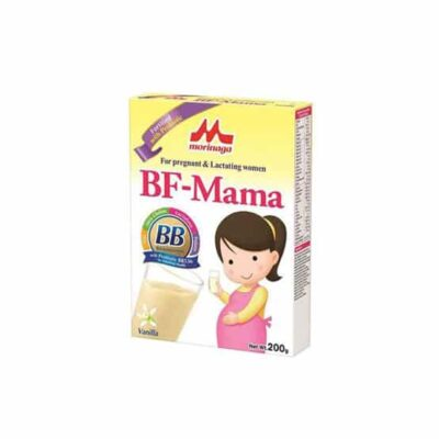 Morinaga Powder Milk BF- Mama is a nourishment powder milk for the betterment and joy for the little one to come. Available in 200g