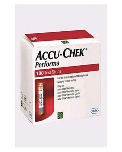 Get free consultancy for shopping Accu-Chek Performa 100 Test Strips from the best online store in Pakistan