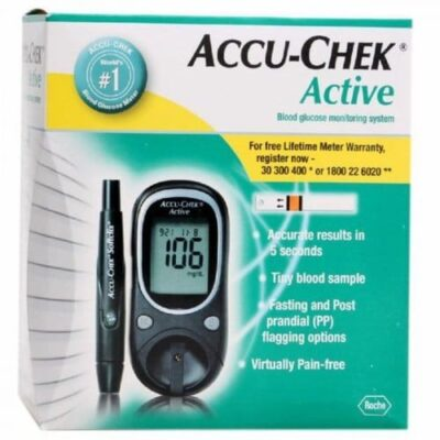 Shop the best quality Accu-Chek Active Meter on a very cheap price in Pakistan
