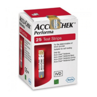 Accu Chek Active, Get in touch for online shopping of Accu-Chek Performa 25 Test Strips @our online pharmacy store in pakistan
