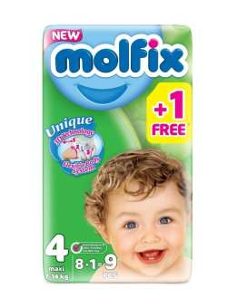 Now Buy the best Molfix Diapers Jumbo Pack Maxi, Jumbo Economy Pack 58 Pcs, Size 4 at best ... Maxi; Baby's Weight: 7-18 kg from online shop in Pakistan