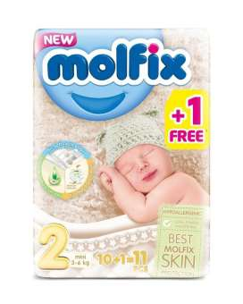 Shop the best quality Molfix Size 2 Pampers from the top brand of online pharmacy Store in Pakistan