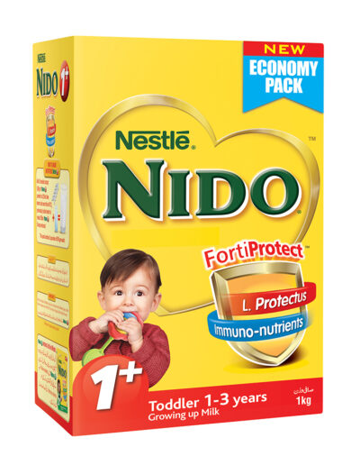 Stop here to Buy Nestle Nido 1+ (1kg) online only on La Farmacia In Pakistan.Best online Pharmacy shopping store in