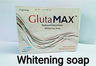 Glutamax Whitening Soap made in Pakistan…